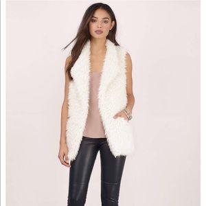 Tobi Fuzzy Vest NWT